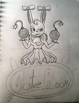 Cuteboom concept art. by Drawing-elite-9