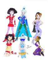 WINX'S WITCHES DOUBLED by Godzilla713