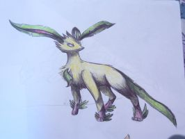Leafeon by pokemonMG
