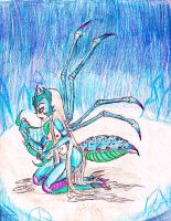Within the Ice and snow: The fragile Queen. by Coraline-176