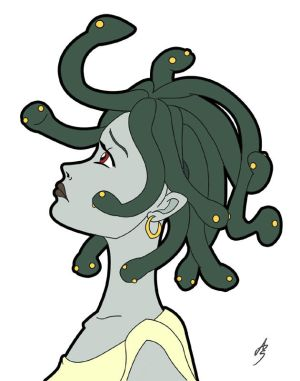 Medusa - Simple coloring