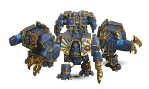 Thousand Sons Dreadnought by ElCasiegno
