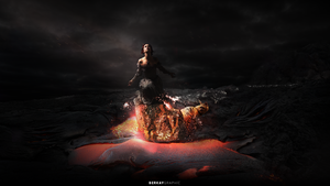 Alone in Flames / maniplation by BerkayGraphic