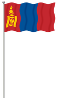 Flag of Mongolia by llmatako