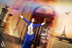 I want to see Paris - Bioshock Infinite by AndyWana