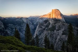 Half Dome Sunset by JForbes1701