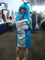 NYAF-NYCC 2011- Mudkipz by IoniaFreak