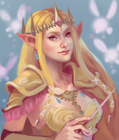 Zelda Hyrule Warriors by Ayichii