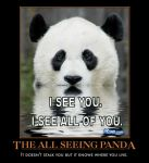 panda demotivational poster by Weirddudeguy