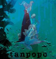 Tanpopo Graphic Novel 2 Cover Illustration by camilladerrico