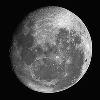 Moon Shot with Home Made PVC Telescope 60mmx900mm by colinbm1
