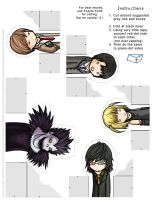 Death Note: FingerPuppet Set 1 by SilentReaper