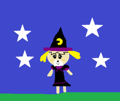 Isabelle as a Witch by carmenramcat