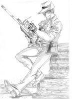 Sniper - sketch by Star10