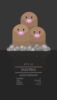 Dugtrio by WEAPONIX