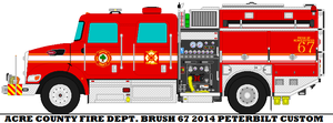 Acre County Fire Dept. Brush 67 by mcspyder1