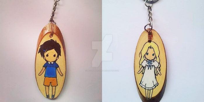 When Marnie Was There - keyring by DecorumDreams