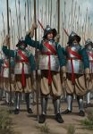 Valdaurian Pikemen by RobbieMcSweeney
