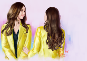[Painting] fanart Yoonsic by TieuVo