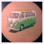 GreenVeeDubBus by littleweird