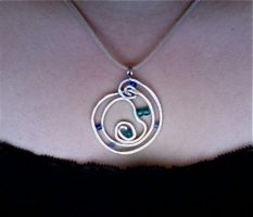 Whirlpool pendant by ghostgray