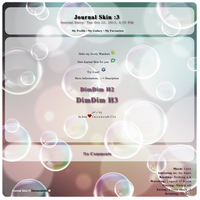 [ Simple Journal Skin VIII ] by Inconcabille