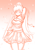 (Doodle) Weiss by Kama7729