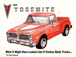 What If Pontiac Made Pickup Trucks? by FastLaneIllustration