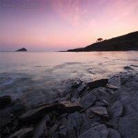 150410 Wembury Sunset square by InsaneGelfling