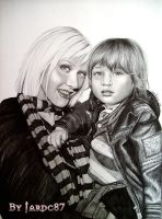 Christina Aguilera and Max by jardc87