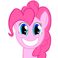 Pinkie Pie-Smile by Hawklaser