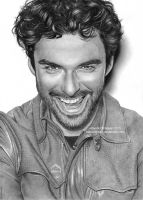 Aidan Turner 02 by Ilojleen