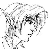 Link Sketch by Louleialalouwe