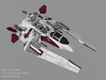 Jedi Scout Fighter by multihawk
