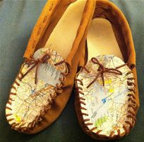 Map Moccasins by summitstars