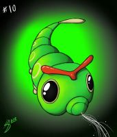 Caterpie by Arowscott