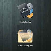 Media Catalog icons by opla457