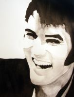 Elvis Presley by mixtapegoddess