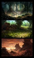 Some Landscapes by TomPrante
