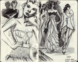 Fashion Sketches by pinaypenciler