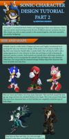 Sonic Character Design Tutorial Part 2 by Zephyros-Phoenix