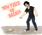 I am Bread by Tea-cup-kitty