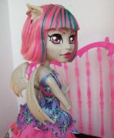 Monster High custom Anime Style Rochelle ooak by AdeCiroDesigns