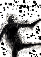 Illustration Project:Monkeys 4 by thetimo