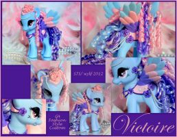 'Victoire' - FS G4 Custom MGR My Little Pony by wylf