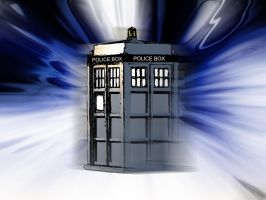 Dr Who - Tardis by rev-Jesse-C