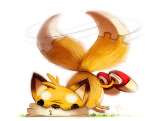 Day 694. Tailz teh echidna by Cryptid-Creations