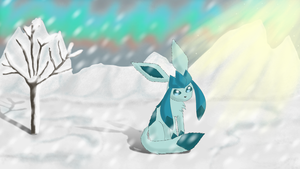 Glaceon - There's Still Hope... by xShining-Fox