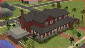 Sims 2 persian home by RamboRocky