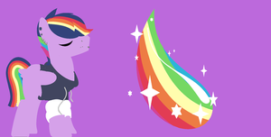 rainbow shine wall papaer by Equestria-Extreme